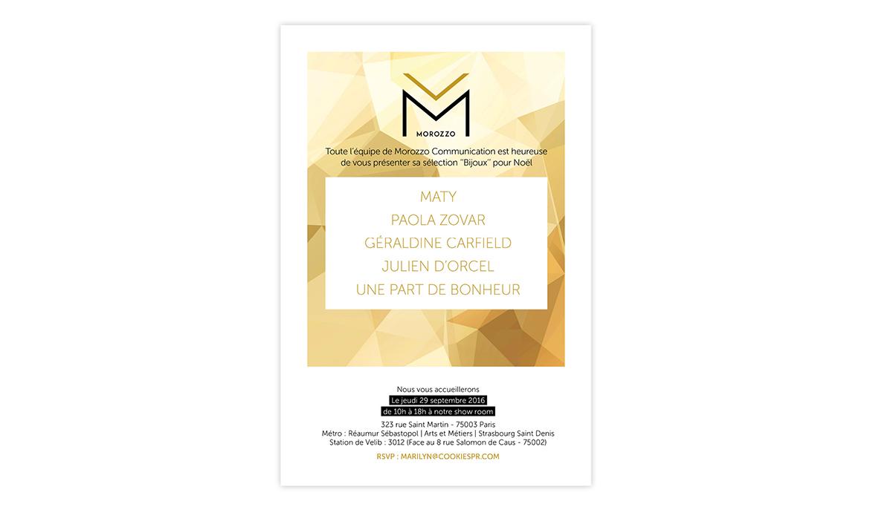invitation bijoux